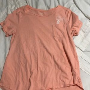 T-shirt with mermaid tail